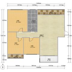 市区电梯双气新楼出售,3室2厅1卫,82万,143m²,毛坯房出售